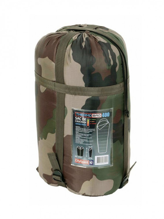 648905bdee Sac de couchage militaire Thermobag 4000 grand froid pas cher ...