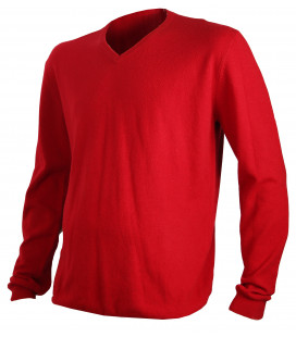 Pull chasse Somlys chaud ROUGE