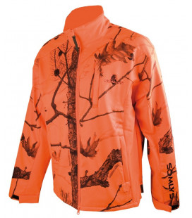 402 - Blouson polaire softshell camouflage orange - Surplus militaire