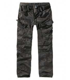 Pantalon Adven Slim Fit camouflage Darkcamo, Brandit