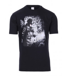 Tee-shirt 101 INC Soldier Skull Noir - Surplus militaire