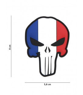 Patch 3D PVC Punisher FRANCE - Surplus militaire