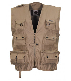 Gilet Outdoor Canadien Beige