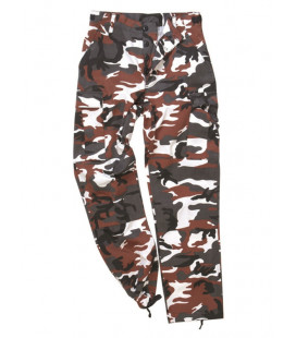 Pantalon US BDU type Rangers Red Camo