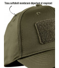 Casquette Tactical Stretch Fit Hiver Softshell Vert