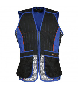 Gilet Ball Trap Percussion Evo Noir / bleu