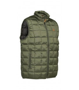 Gilet Chasse Percussion Warm Kaki