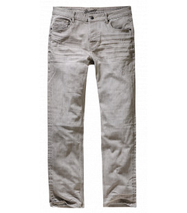 Pantalon Jake Brandit No.3 Grey denim - Surplus militaire