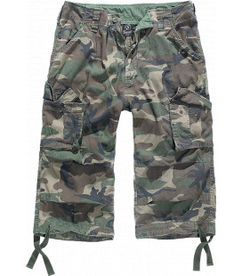 Bermuda Urban Legend 3/4 Brandit Woodland - Surplus militaire