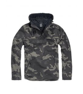 Blouson coupe vent Brandit Windbreaker Darkcamo - Surplus militaire