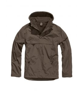 Blouson coupe vent Brandit Windbreaker Marron - Surplus militaire