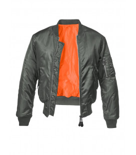 Bombers homme aviateur Brandit MA1 Anthracite