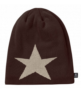 Bonnet Beanie STAR Brandit Marron - Surplus militaire
