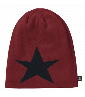 Bonnet Beanie STAR Brandit Bordeaux - Surplus militaire