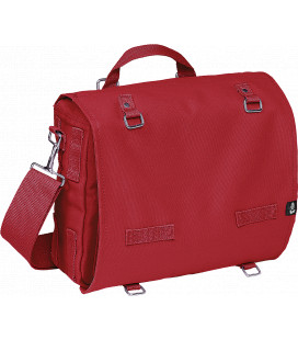 Sac bandoulière Brandit Canvasbag Large Rouge - Surplus militaire