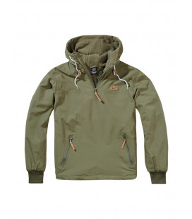Veste coupe vent Luke windbreaker Kaki