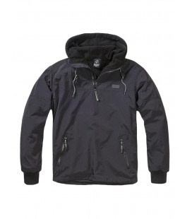 Veste coupe vent Luke windbreaker Noir - Surplus militaire