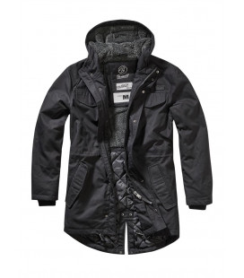 Parka fourrée Marsh Lake Brandit Noir - Surplus militaire