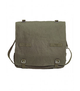 Sacoche Musette à sangle BW grand modèle Kaki - Surplus militaire