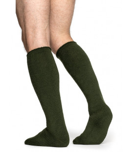 Chaussettes Woolpower KNEE-HIGH 600 Verte - Surplus militaire