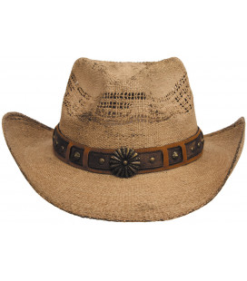 "Chapeau de Paille, ""Colorado"", marron, taille unique - Surplus militaire"