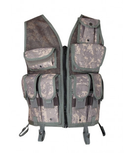 Gilet tactique de combat camo Digital AT