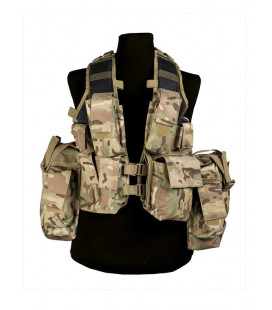 Gilet tactique Multitarn (12 poches) - Surplus militaire