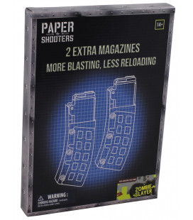 PAPER SHOOTERS, trousse, Magazine-Zombie-Say, 2p/paquet - Surplus militaire
