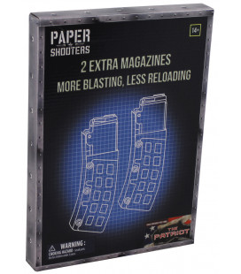 PAPER SHOOTERS, trousse, Magazine-Patriot, 2p/paquet - Surplus militaire