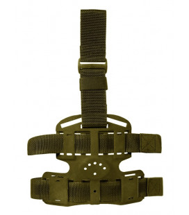 Plaque de cuisse VEGA-Holster 1 sangle vert - Surplus militaire