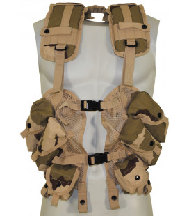"US Gilet, ""Load Bearing"", 3 F. desert, taille réglable"
