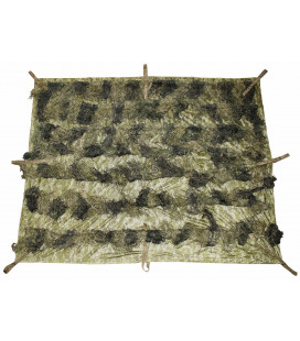 "Filet camouflage, ""Ghillie"", 3,5x1,5 m, woodland - Surplus militaire"
