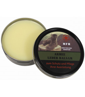 "Balsam en cuir, ""Army"", incolore, 150 ml - Surplus militaire"