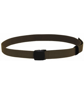 "Ceinture ""Tactical Elastic"", coyote tan, 3,7 cm"