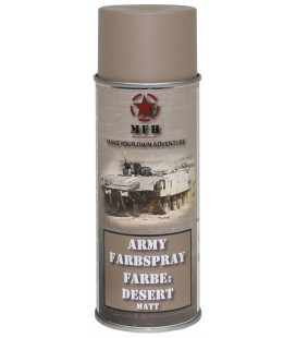 spray paint armée, DESERT, mat, 400 ml - Surplus militaire