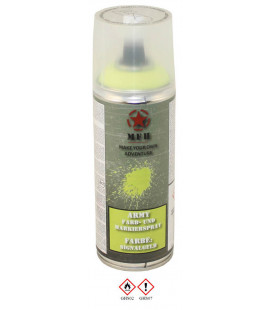 spray paint armée, SIGNALER JAUNE, 400 ml - Surplus militaire