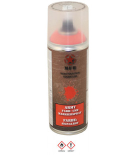 spray paint armée, SIGNALER ROUGE, 400 ml - Surplus militaire