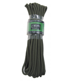 corde, kaki, 7mm, 15 m - Surplus militaire