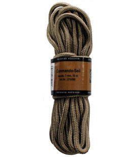corde, coyote, 7mm, 15 m - Surplus militaire