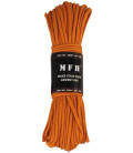 Paracorde de parachute, orange, 100 FT, nylon