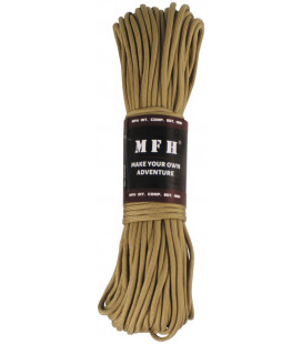 corde de parachute, coyote tan, 100 FT, nylon - Surplus militaire