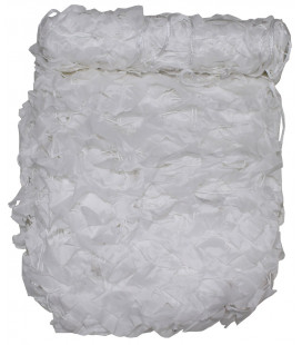 "Filet camouflage 2x3m, ""Basic"", blanc, avec sac PVC"