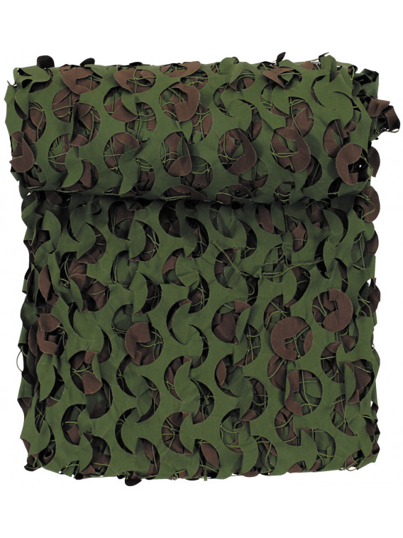GB filet camouflage, 3 x 5 m, DPM, retardateur de flamme - Surplus militaire