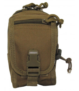 "Pochette multi-usage, ""Molle"", petit, coyote tan - Surplus militaire"