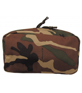 "Poche multi-usage, ""MOLLE"", grand, syst. mod., woodland - Surplus militaire"