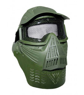 Masque de protection total pour Airsoft kaki