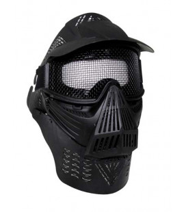 Masque de protection total pour Airsoft noir - Surplus militaire