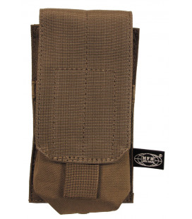 "Porte chargeur, simple ""MOLLE"", syst. mod.,coyote tan - Surplus militaire"