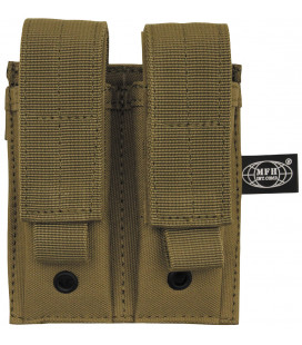 "porte chargeur, ""Molle"", double, coyote tan - Surplus militaire"