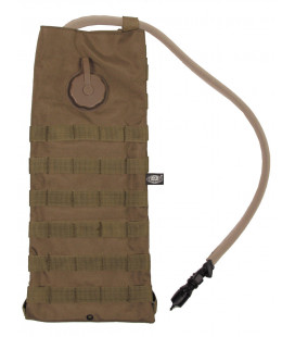 "Sac d'hydratation, ""MOLLE"", 2,5 l, coyote tan"